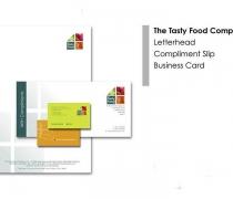 Tasty Food Company - Identity Branding