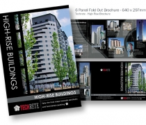 Techrete Highrise Brochure - 6 Panel Fold Out
