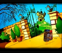 Animated childrens game developed for Maxwell House